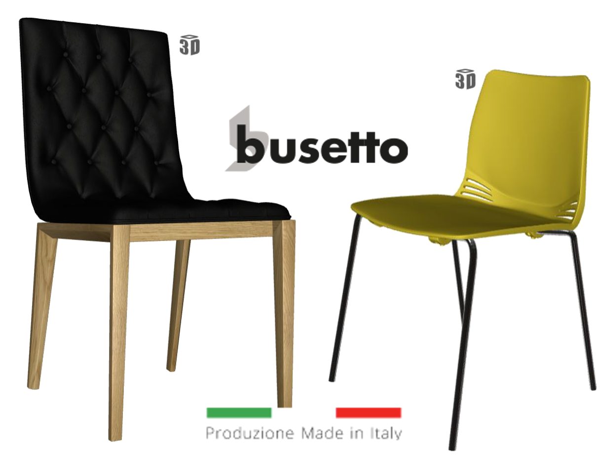 Busetto 3D Chairs