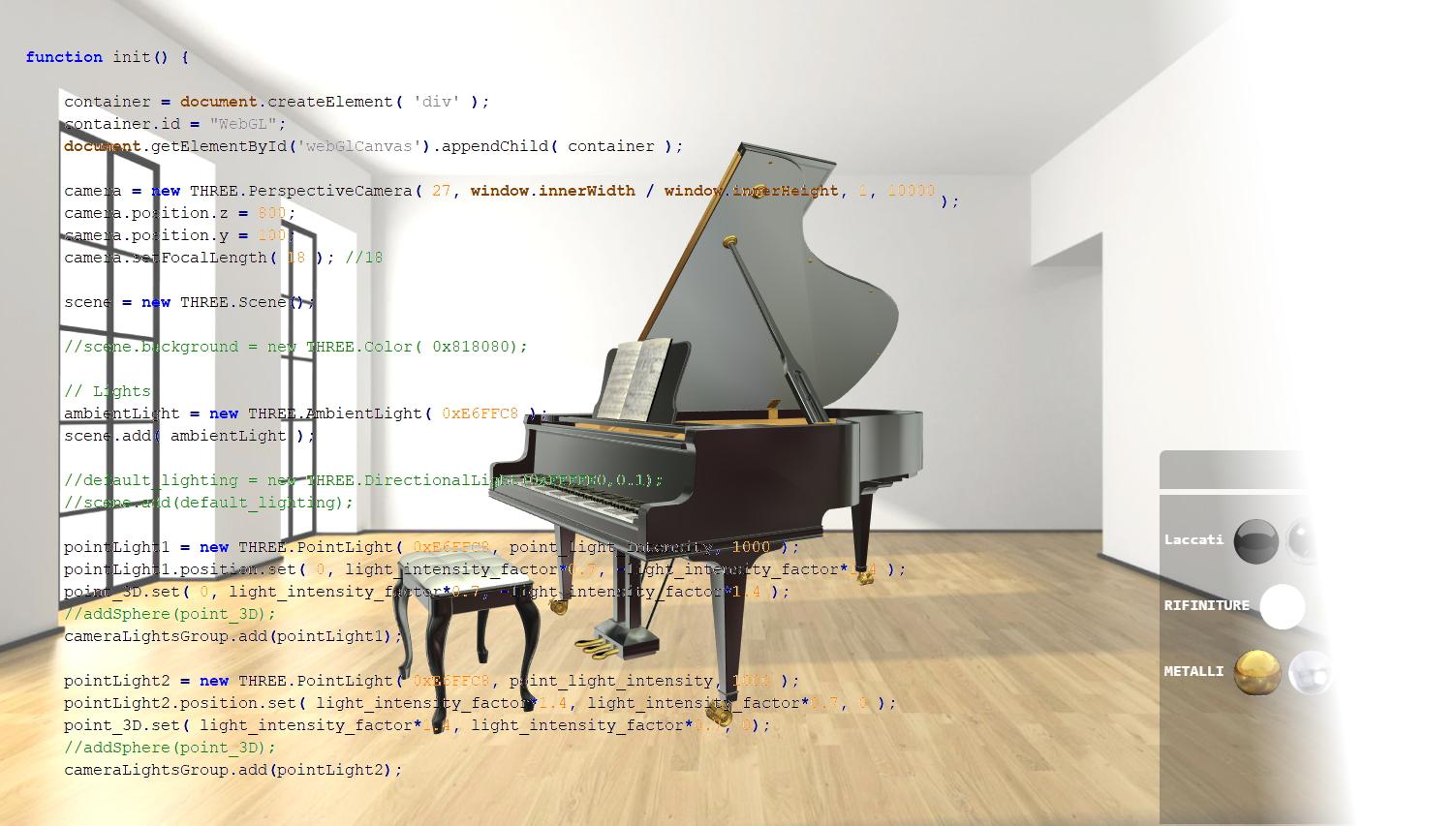 3D web coding