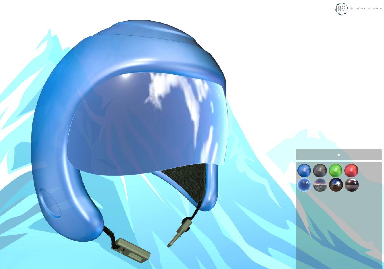 Custom 3D Helmet
