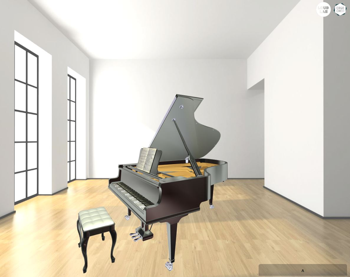 3D Piano Viewer