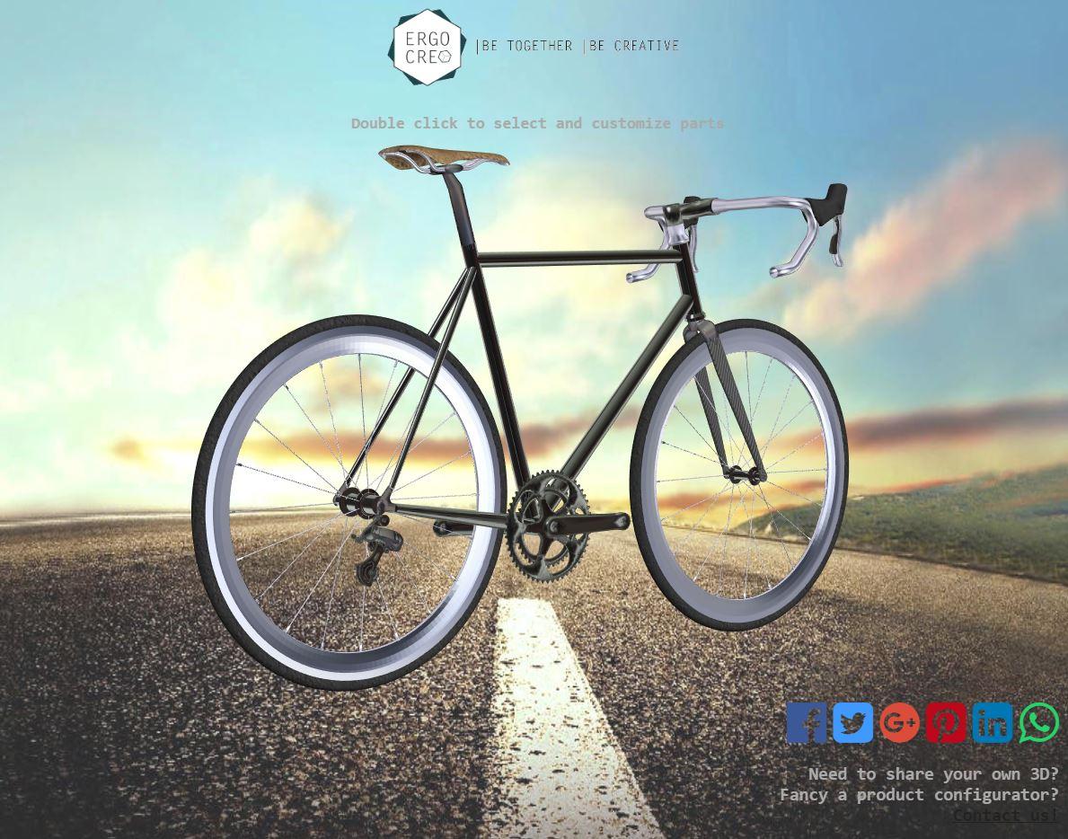 Custom 3D Bike