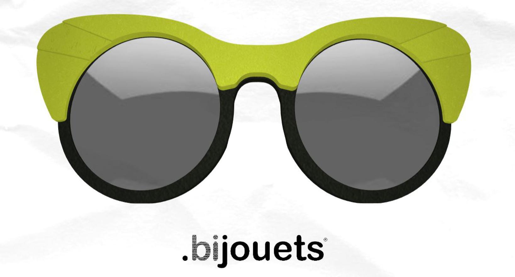 3D printed sunglasses Cambiami bijouets
